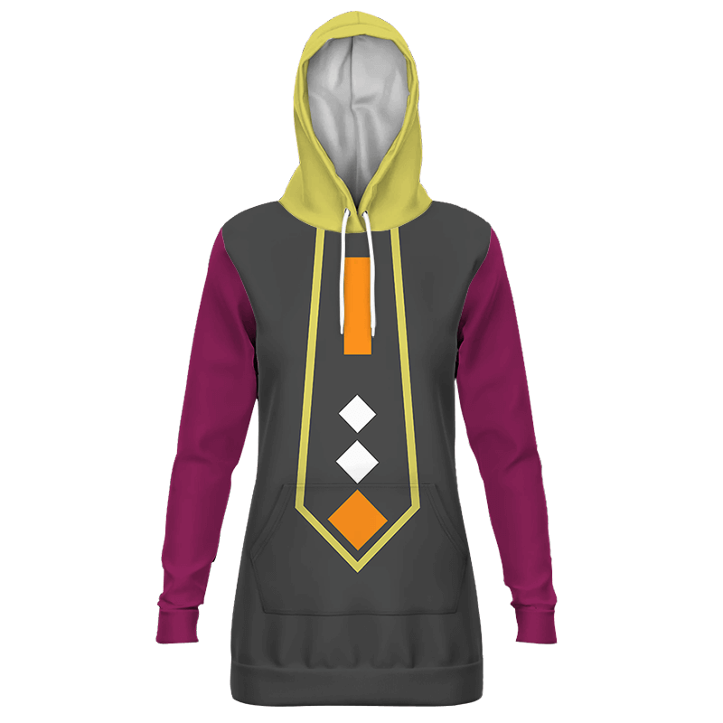 Dragon Ball Super Whis Inspired Cosplay Costume Hoodie Dress