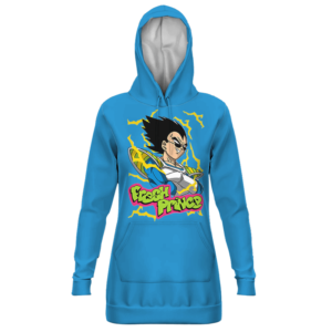 Dragon Ball Vegeta Fresh Prince Blue Awesome Hoodie Dress