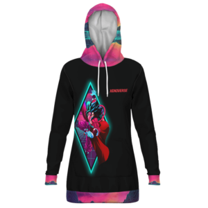 Dragon Ball Xenoverse Vegito SSJ4 Retro Style Hoodie Dress
