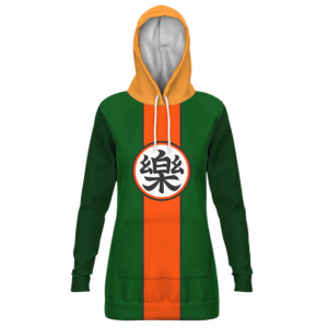 Dragon Ball Yamcha Cosplay Outfit Comfort Kanji Hoodie Dress