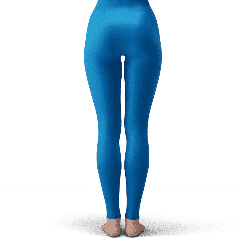 Dragon Ball Young Chi-Chi Galaxy Flower Cute Blue Leggings