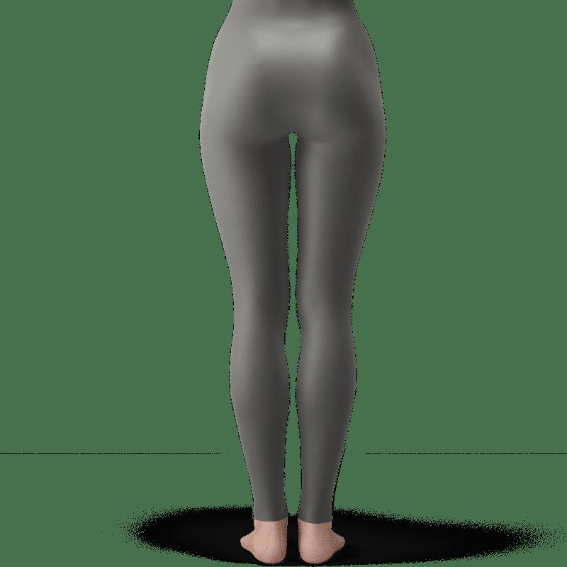 Dragon Ball Z Android 17 Fantastic Light Gray Yoga Pants