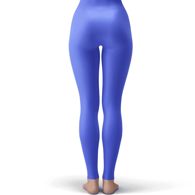 Dragon Ball Z Android 18 Cute Blue Awesome Leggings
