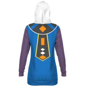 Dragon Ball Z Beerus Inspired Cosplay Costume Hoodie Dress