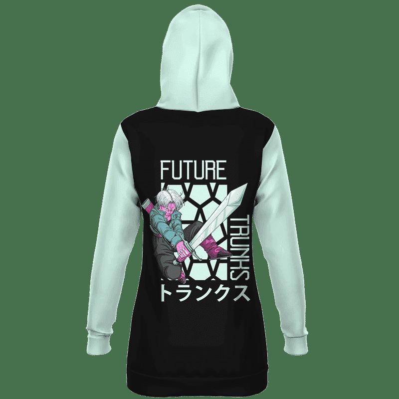 Dragon Ball Z Future Trunks Retro Cool Art Hoodie Dress