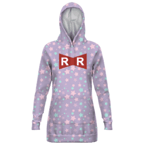 Dragon Ball Z Red Ribbon Army Candy Color Star Hoodie Dress