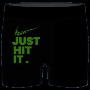 Just Hit It Nike Inspired 420 Marijuana Men's Boxer Briefs