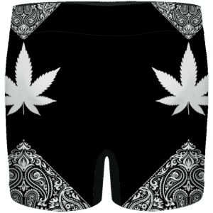 Legalize Marijuana Seamless Pattern Dope Art Men's Underwear
