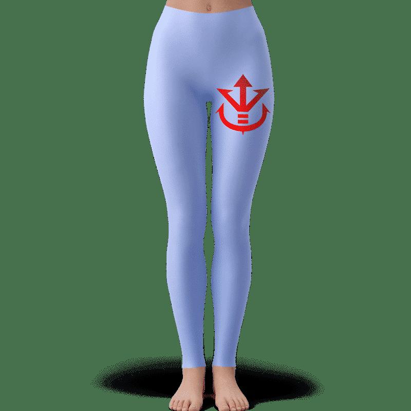 Saiyan Royal Family Symbol Bluish Shade Yoga Pants