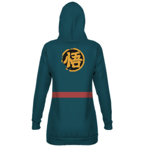 Super Dragon Ball Heroes Goku God Officer Cosplay Hoodie Dress