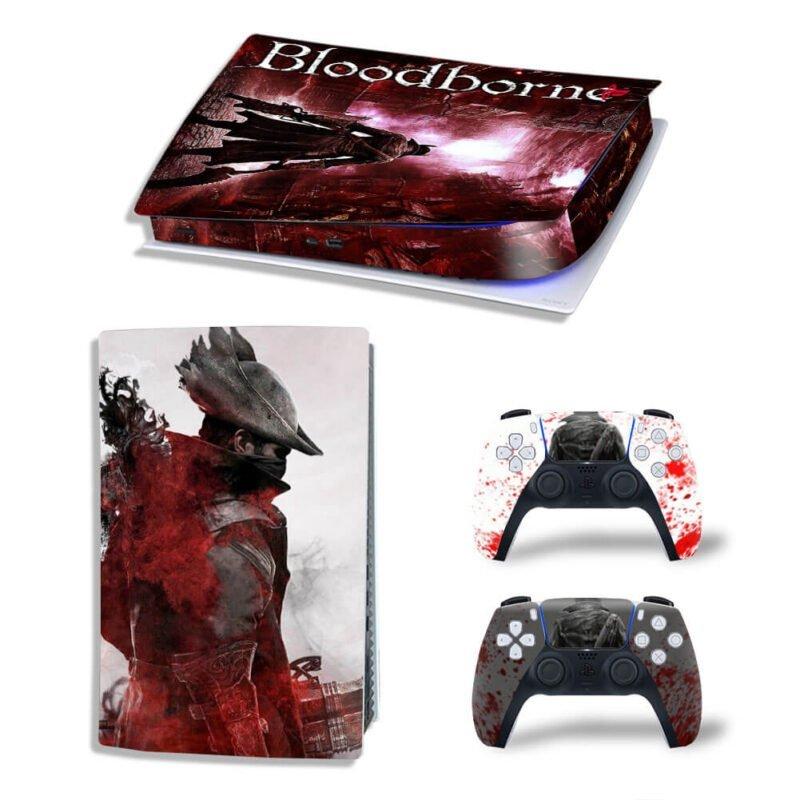 Bloodborne The Hunter Design PS5 Digital Console Skin
