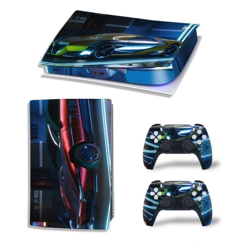 Cyberpunk 2077 Official Vehicles PS5 Digital Console Skin