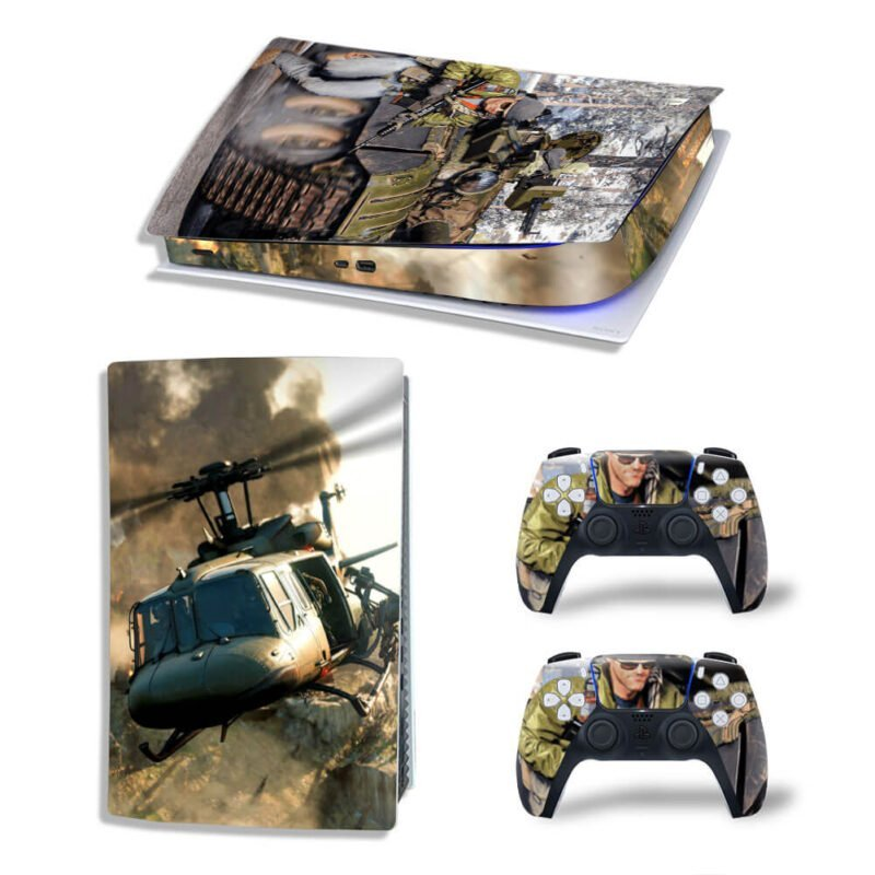 COD Black Ops Cold War Military Tank PS5 Digital Console Skin