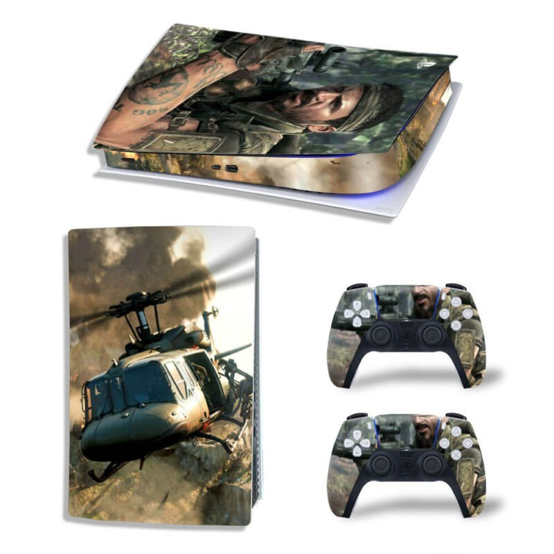 Call Of Duty Black Ops Sergeant Woods PS5 Digital Cover