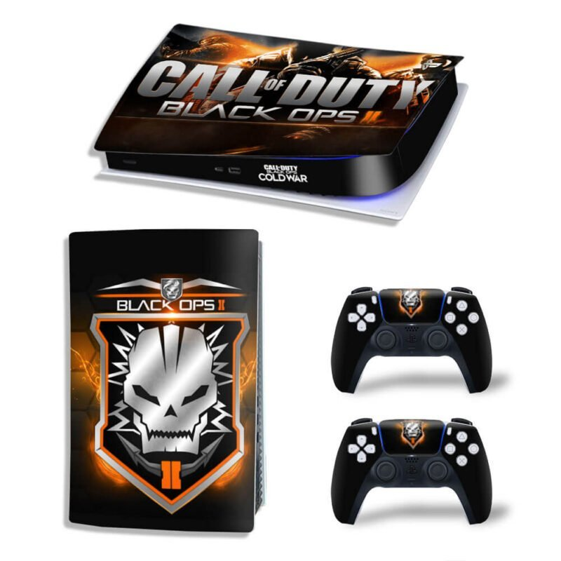 Call Of Duty Black Ops II Skull Logo PS5 Digital Decal Skin