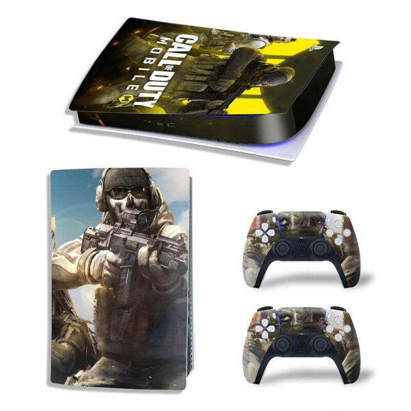 Call Of Duty Mobile Version Ghost Riley PS5 Digital Skin
