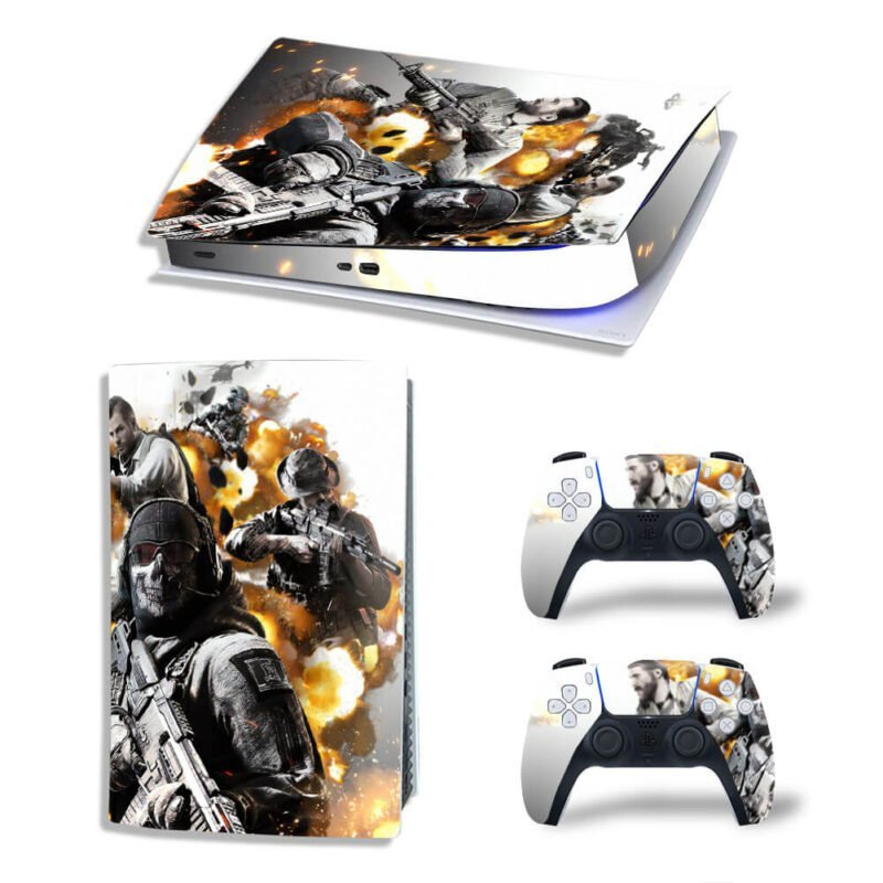 Call Of Duty Mobile Characters Poster Dope PS5 Digital Cover