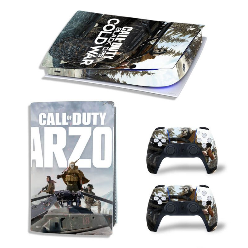 COD Black Ops Cold War Warzone PS5 Digital Console Skin