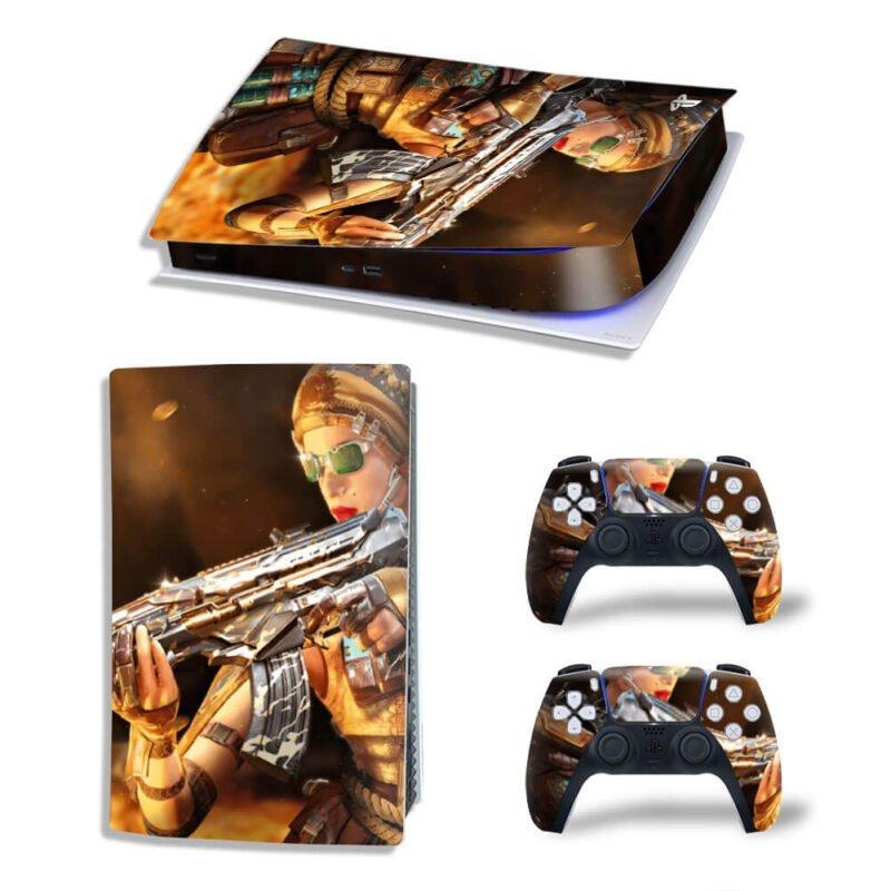Call Of Duty Fancy Firearm PS5 Digital Console Skin