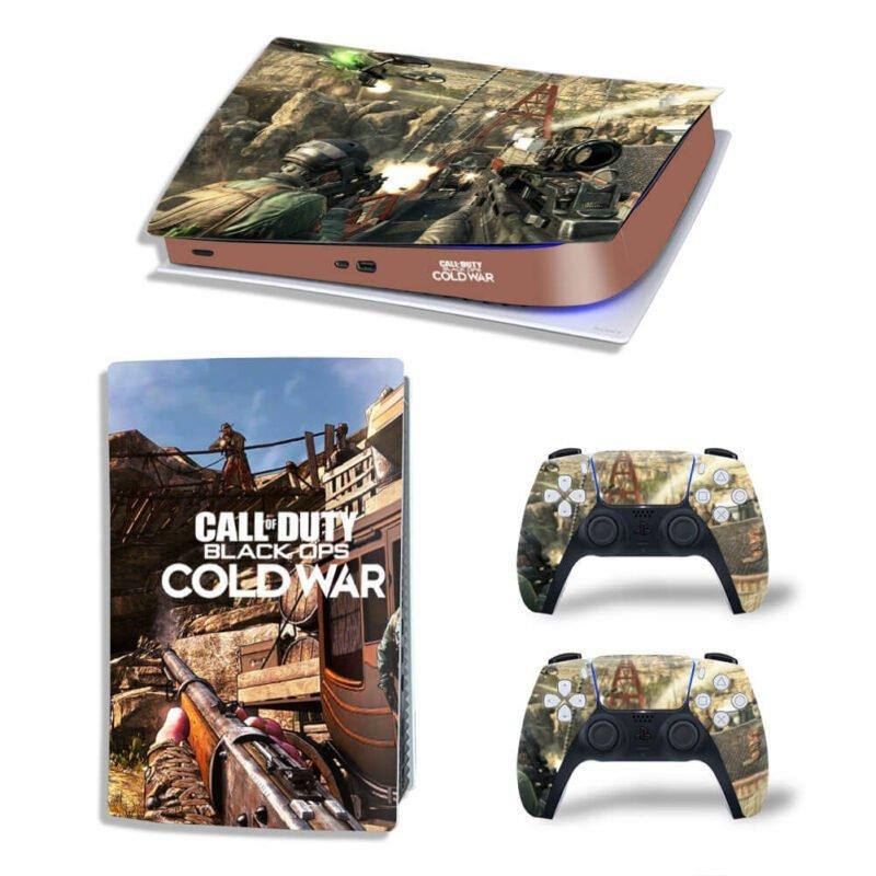 COD Black Ops II Cold War Sniper Shooting PS5 Digital Skin