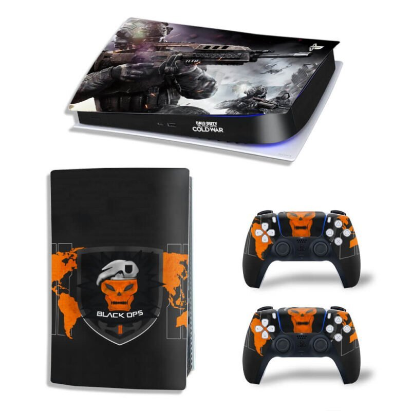 Call Of Duty Black Ops II Logo Cold War PS5 Digital Cover