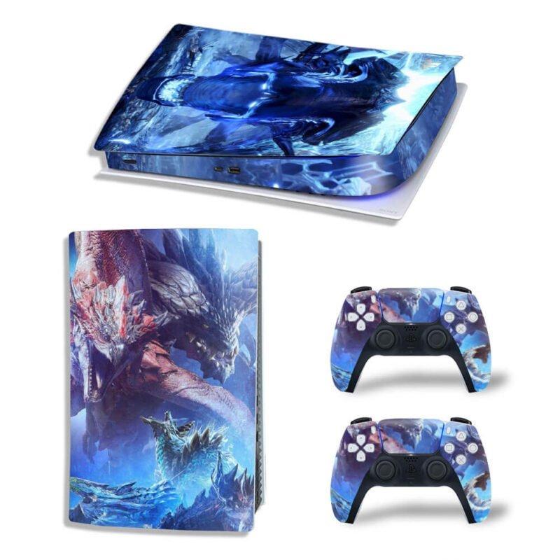 Monster Hunter World Iceborne Large Monsters PS5 Digital Skin