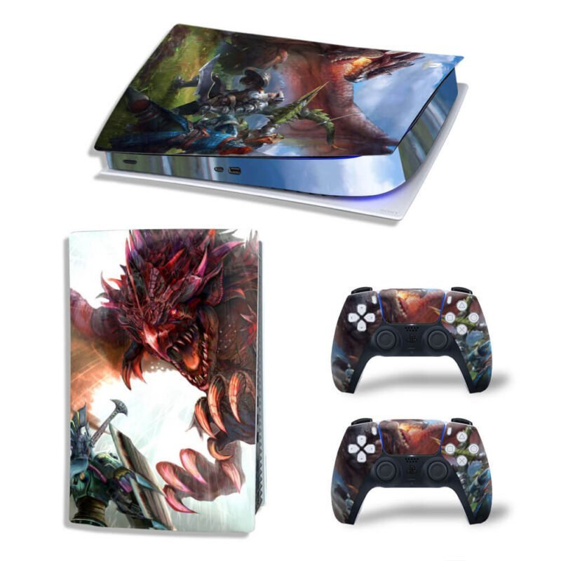 Monster Hunter World Flying Wyverns Rathalos PS5 Digital Skin