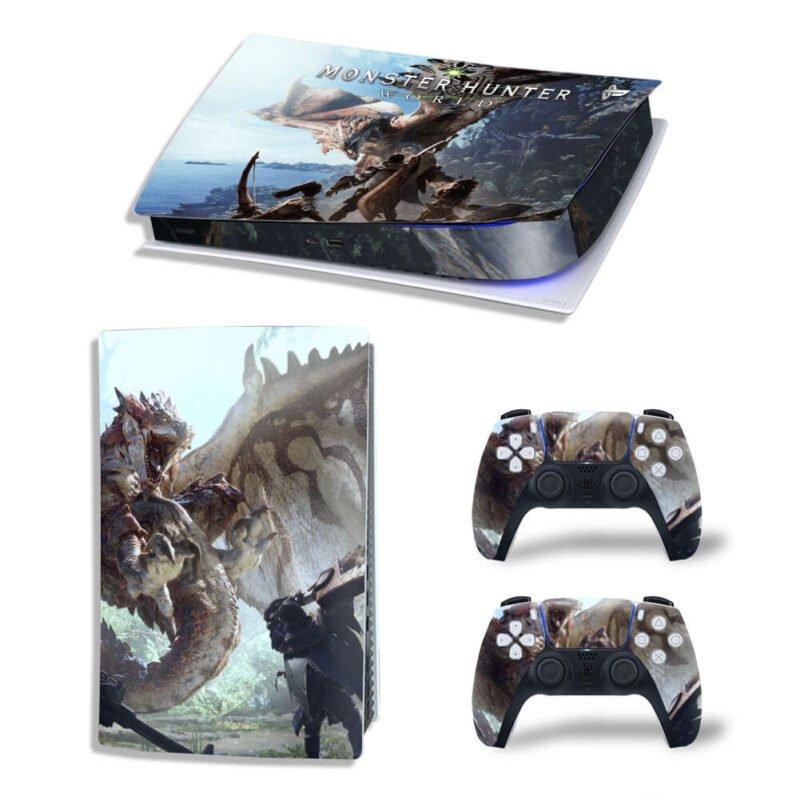 Monster Hunter World Tigrex Monster PS5 Digital Decal Skin