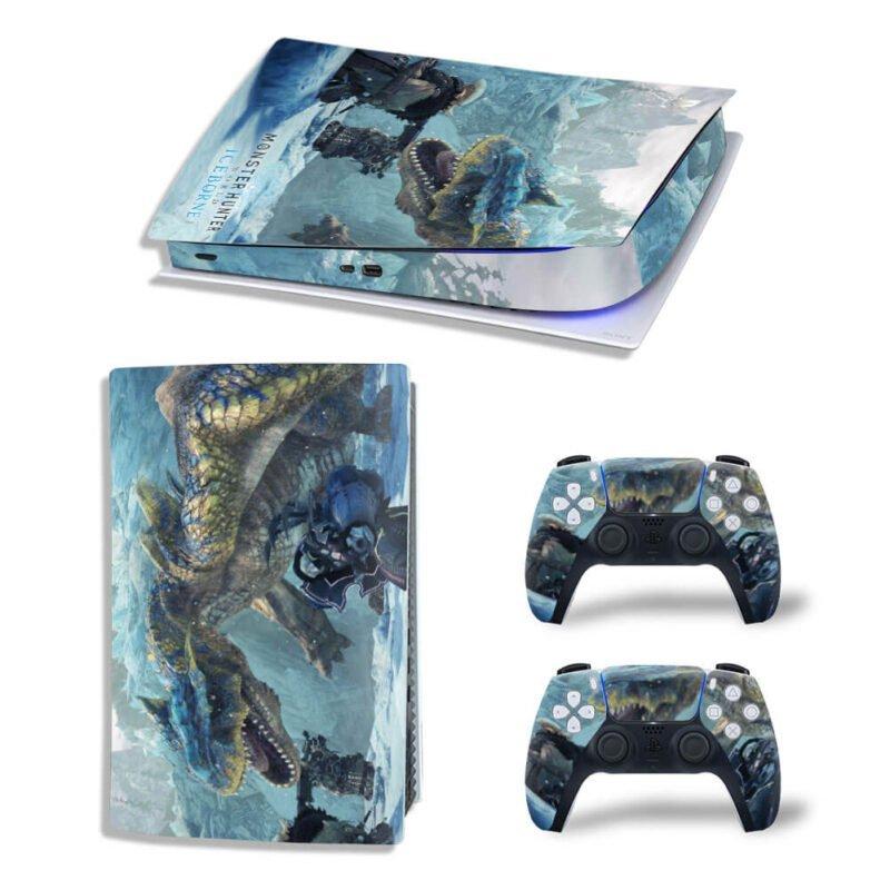 Monster Hunter World Iceborne Tigrex PS5 Digital Decal Skin