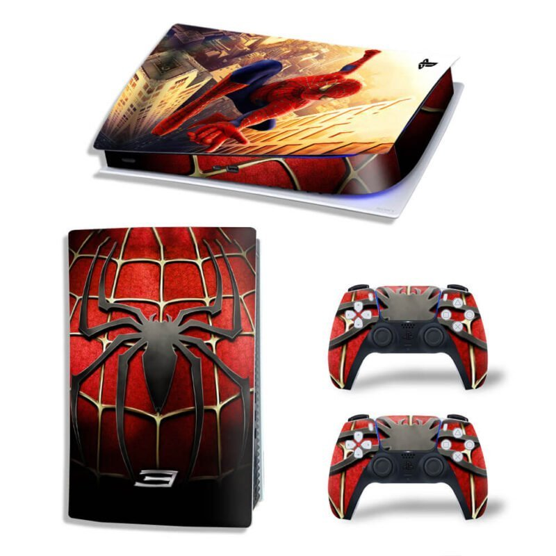 Marvel Spider-Man 3 Tobey Maguire PS5 Digital Console Skin