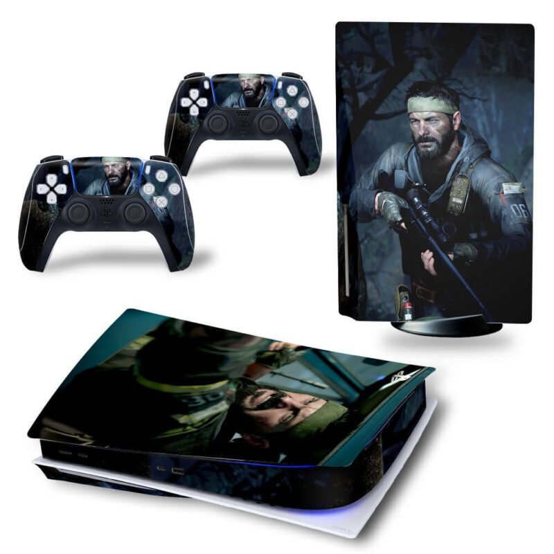 Call of Duty Black Ops Cold War Frank Woods PS5 Disk Skin