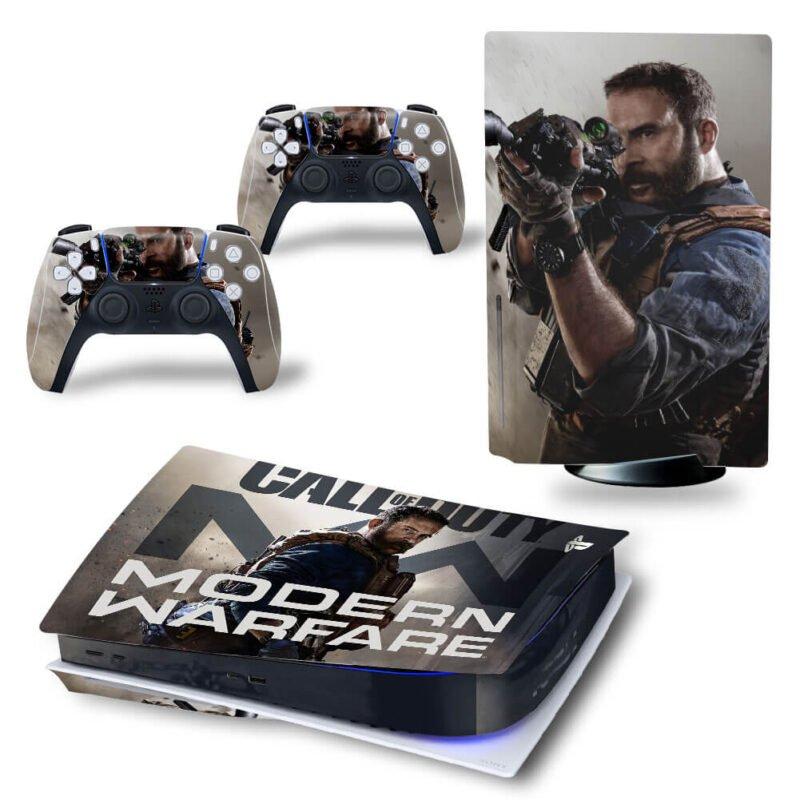 Call Of Duty Modern Warfare Former CIA Alex PS5 Disk Cover