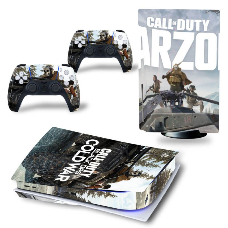 Call Of Duty Black Ops Ghost Riley Team PS5 Disk Wrap