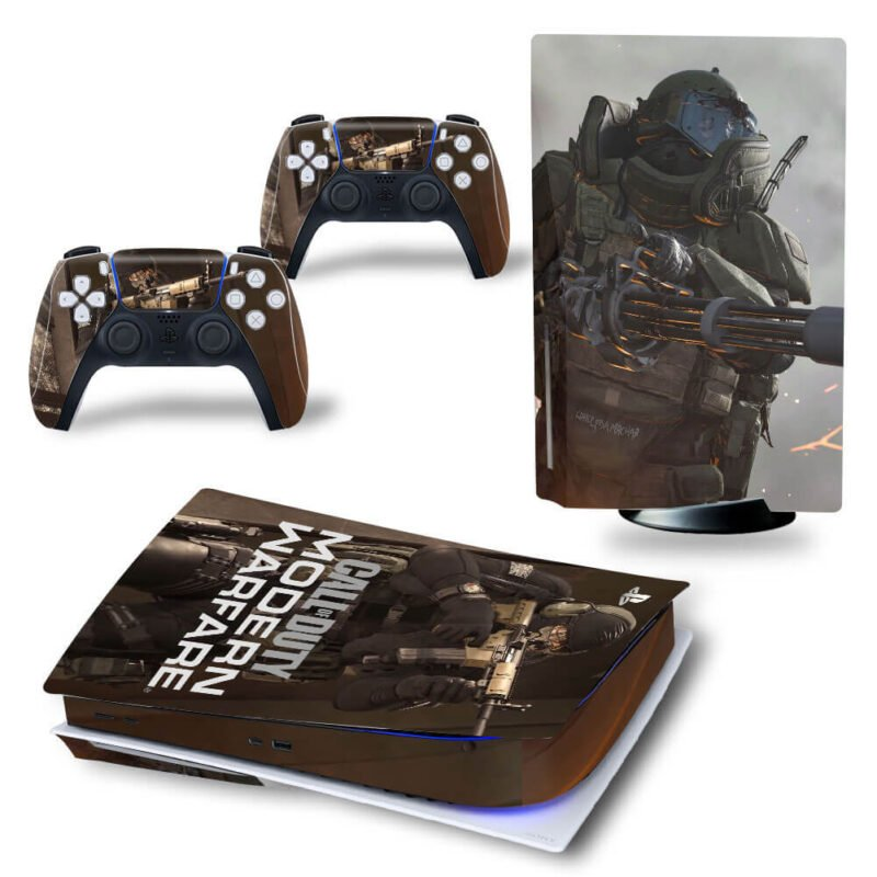 Call Of Duty Modern Warfare Army & Guns Dope PS5 Disk Skin