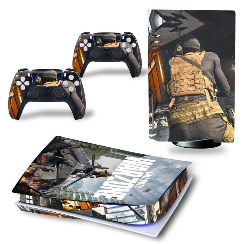Call Of Duty Warzone War Tanks Battlefield PS5 Disk Skin