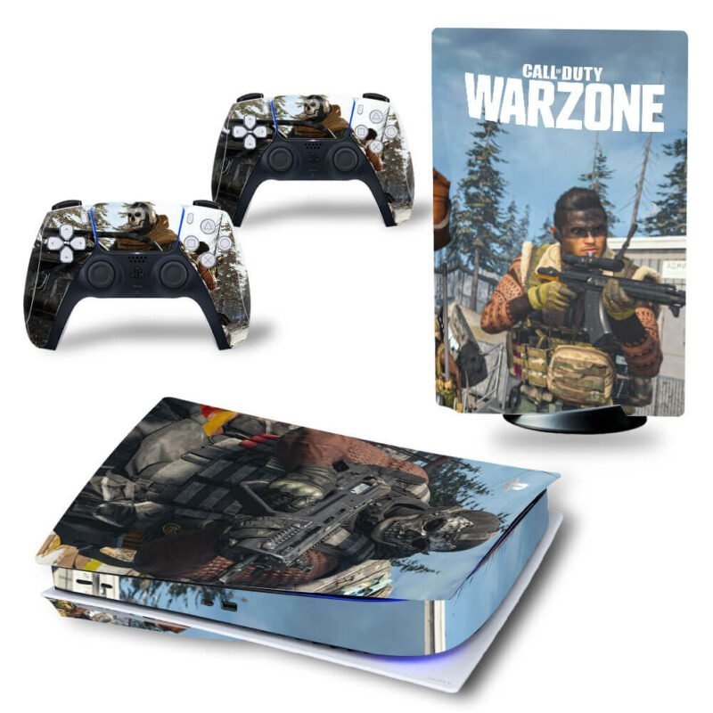Call Of Duty Warzone Dope Players & Guns PS5 Disk Decal