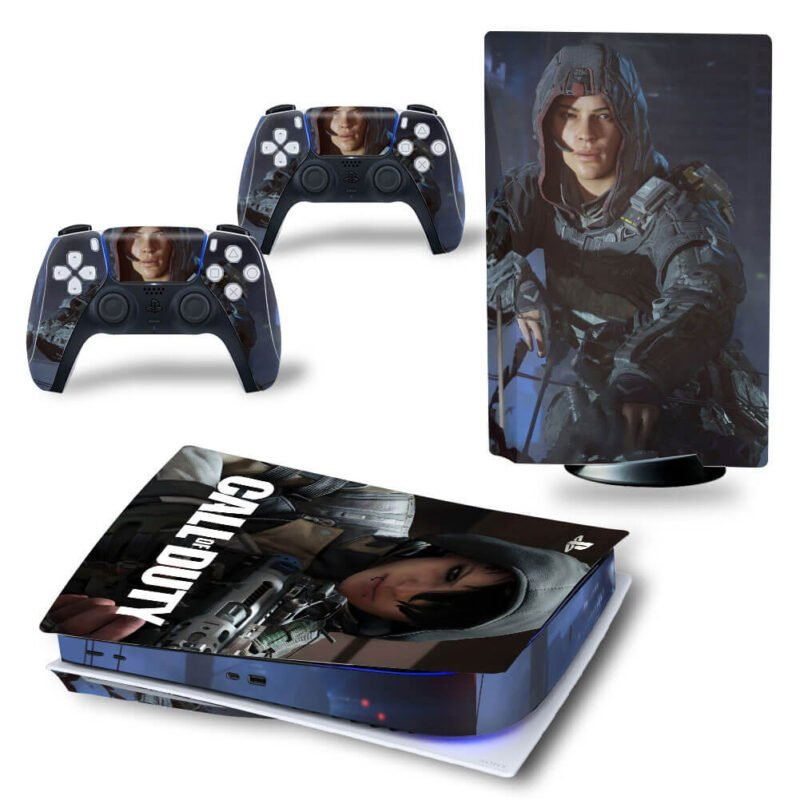 Call Of Duty Dope Characters Dark PS5 Disk Decal Cover