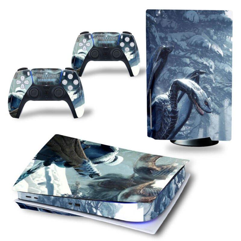 Monster Hunter World Iceborne Dope Ice Monsters PS5 Disk Skin