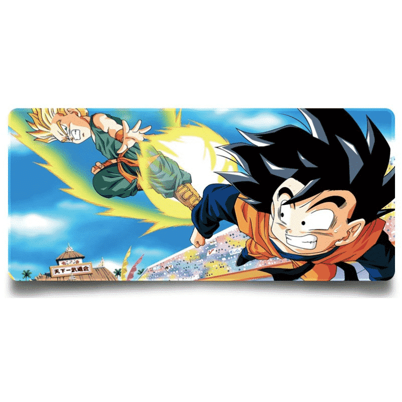 Trunks Vs Goten World Tournament Junior Division Mouse Pad