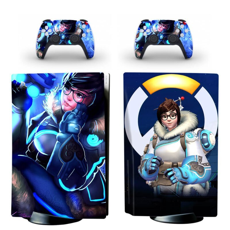 Overwatch Doctor Mei Ling Zhou Freeze Spray PS5 Disk Skin