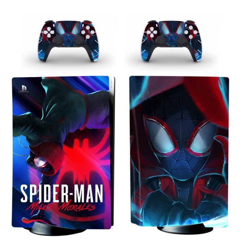 The Amazing Spider Man Miles Morales Dope PS5 Disk Skin