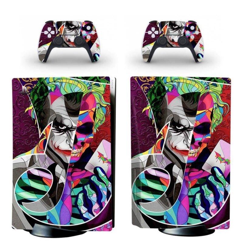 The Joker From Batman Dope Artistic Design PS5 Disk Skin