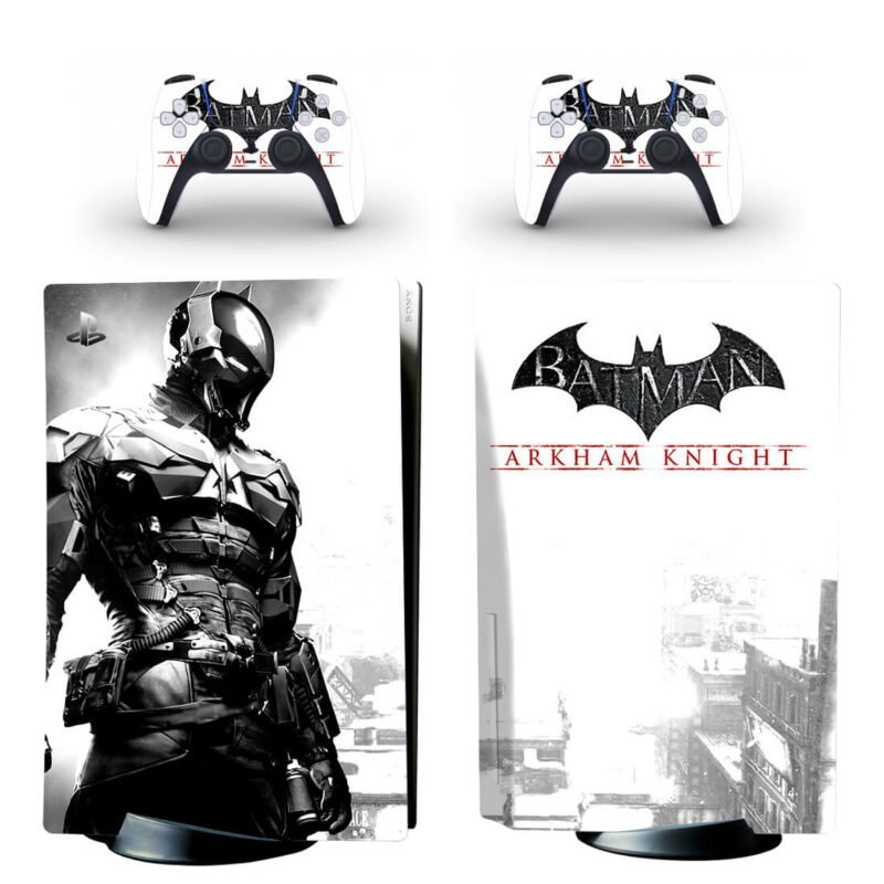 Batman Arkham Knight Dope Black & White PS5 Disk Wrap