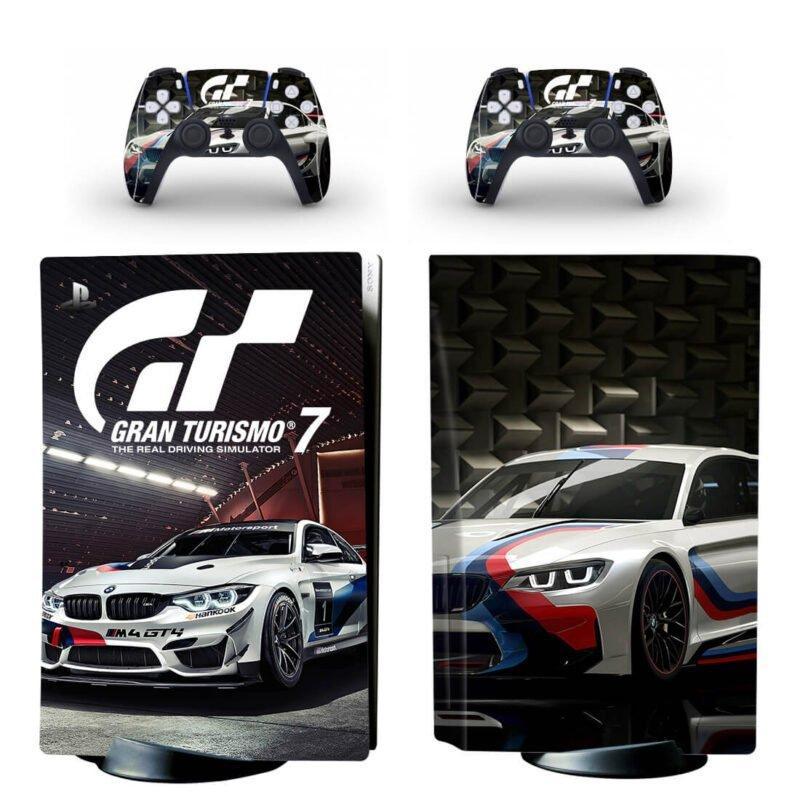Gran Turismo 7 Cool Car Racing Simulator PS5 Disk Cover