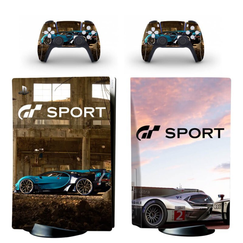 Gran Turismo 7 Dope Sports Car Racing PS5 Disk Skin