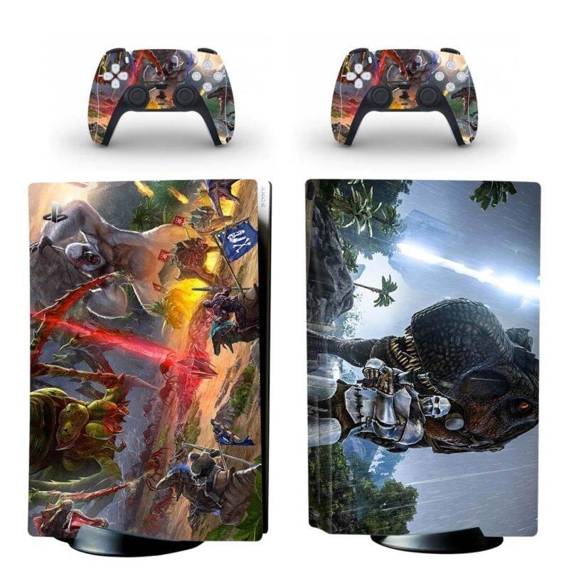 Ark Survival Evolved Monsters & Dinosaurs PS5 Disk Skin