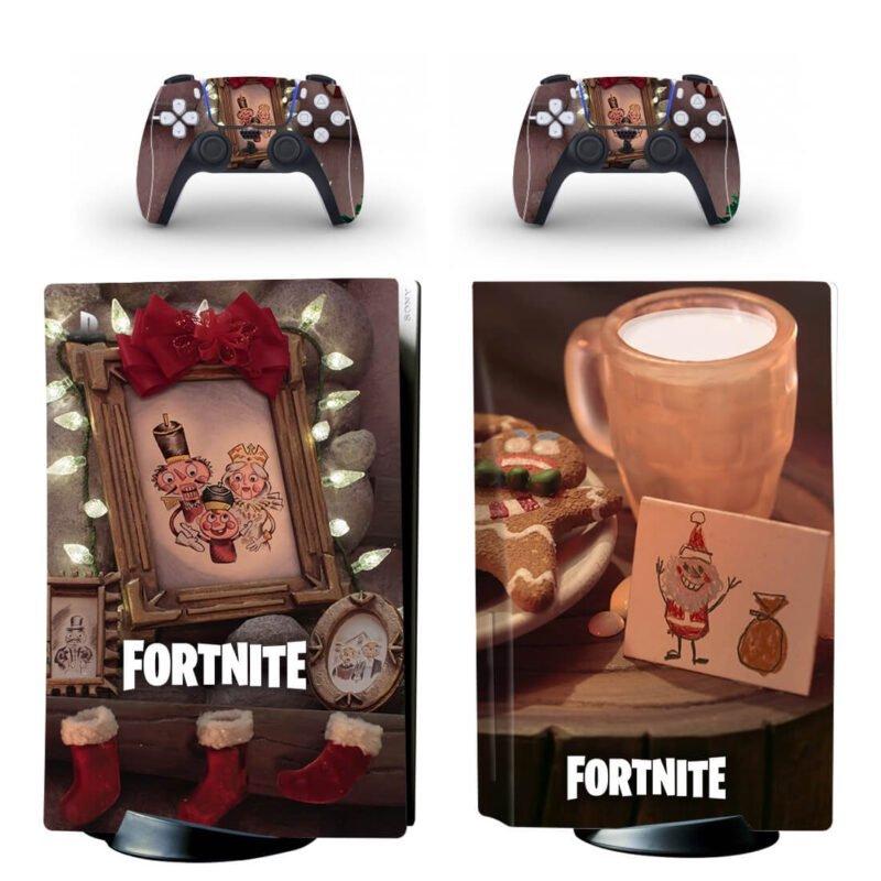 Fortnite Christmas Season Nutcracker Family PS5 Disk Skin