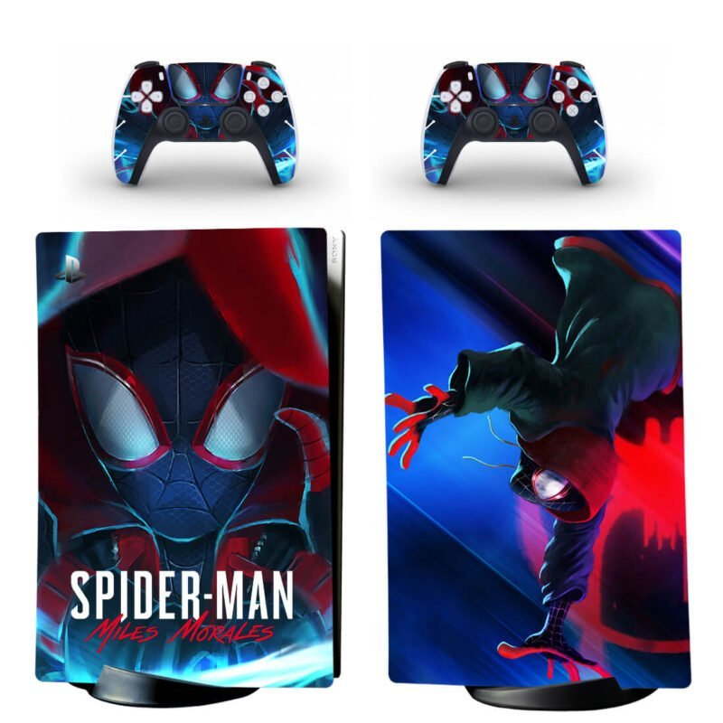 Miles Morales Into The Spider-Verse PS5 Digital Decal Cover