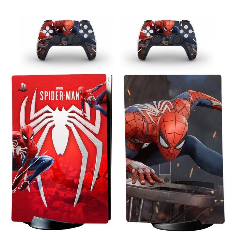 Amazing Marvel Spider-Man PS5 Digital Console Skin