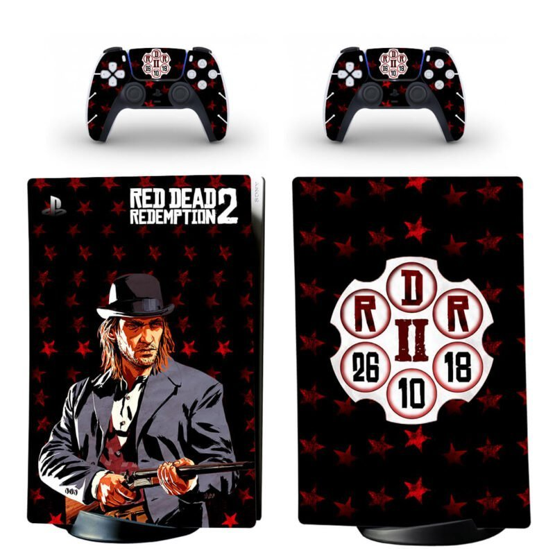 Red Dead Redemption 2 Sean Mcguire PS5 Digital Decal Skin